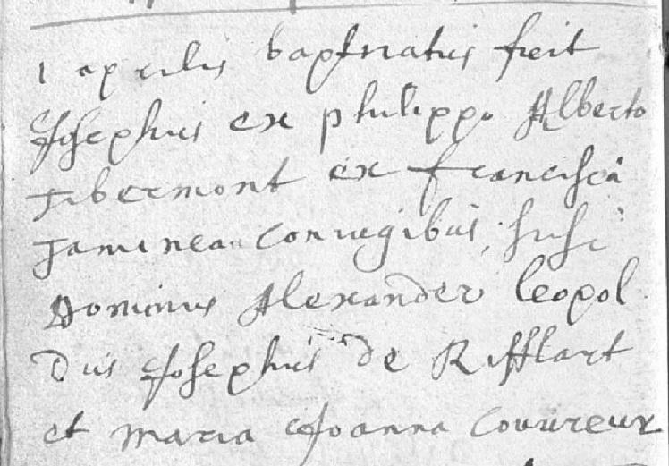 tibermont-josephus-16870401-geboorteakte
